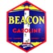Beacon Blue Gas Decal lighthouse