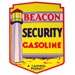 Beacon Security Yellow Gas Decal lighthouse