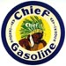 Chief Anti Knock Gas Decal Indian Native Tribe