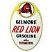 Gilmore Red Lion Gas Decal