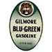 Gilmore Blu Green Gas Decal