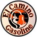El Camino Gasoline Gas Decal Real, California Junipero Serra