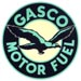 Gasco Motor Fuel Gas Decal