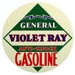 General Petroleum Violet Ray Gas Decal