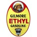 Gilmore Ethyl Gasoline Decal Lionhead