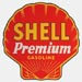 Shell Premium Gasoline Decal