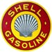 Shell Roxana Gasoline Decal
