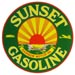 Sunset Gasoline Decal